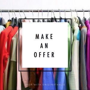 Make an Offer 😊🎉